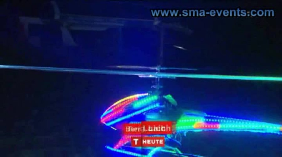 Modell-Hubschrauber NIGHT SHOW