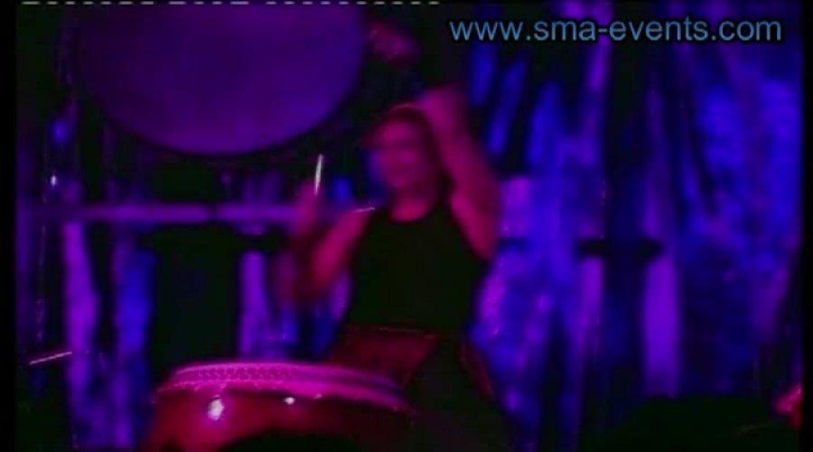 Percussion - japanische Taikotrommel