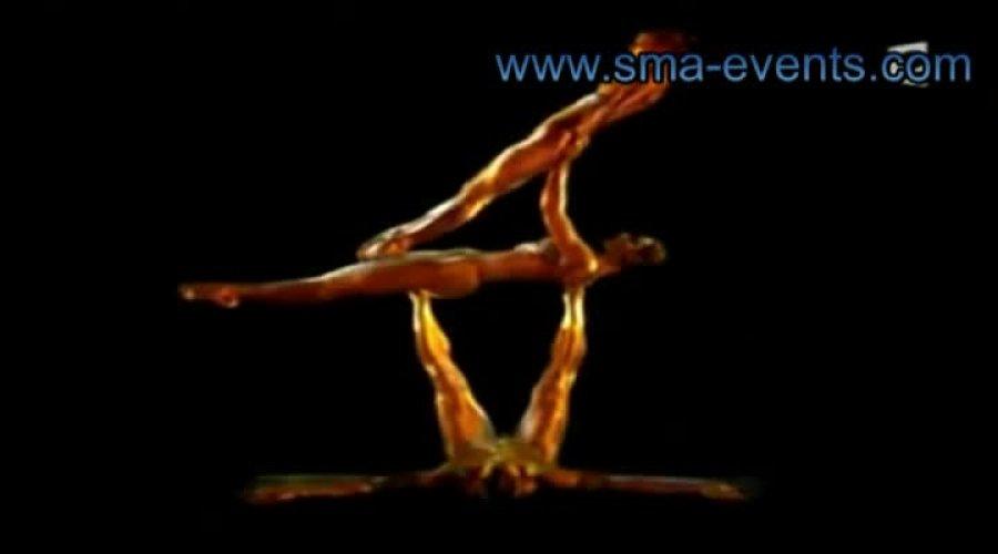 Golden Trio Acrobatic